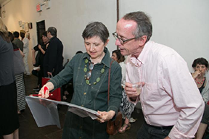 100 Works on Paper Benefit Exhibition, 2015
