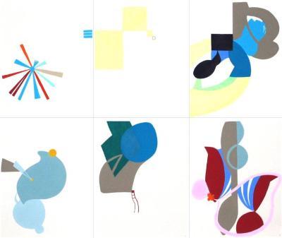 Talkative x6 #5 (6 drawings)