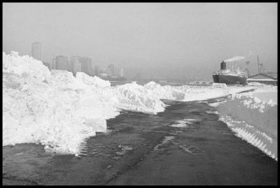 Janet Neuhauser, After the Blizzard, Pier, 1985