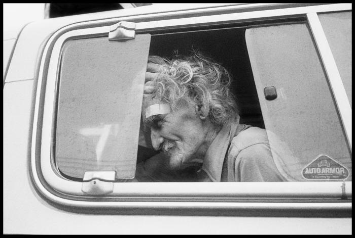 Janet Neuhauser, Fred Foster Leaving Red Hook for Good, 1989